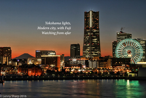 "Yokohama dusk - Haiku.jpg • <a style=""font-size:0.8em;"" href=""http://www.flickr.com/photos/55493827@N04/18487976956/"" target=""_blank"">View on Flickr</a>"