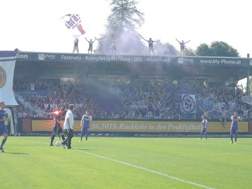 SV Austria Salzburg vs. FC Hard: Vor dem Anpfiff