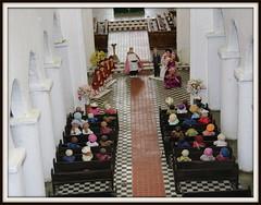 the wedding.............. (patrick l clinton) Tags: wedding church model religion enjoy wimbourneminster