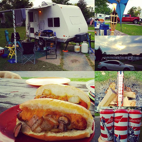 I haven't Instagrammed yet today, my bad. #upstateny #camping #glamping #darienlake