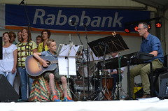 Optreden zanggroep Confervore op Bazaar 14 juni 2015