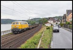DB 218 449-7 - Linz am Rhein (Spoorpunt.nl) Tags: juni linz am db 13 rhein netz 218 2015 baureihe 4497 dattenberg spoorstaven longrails rongenwagens