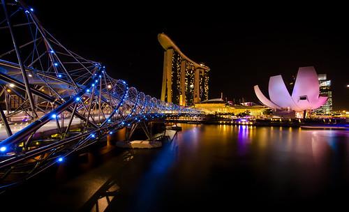 Marina Bay Helix Bridge
