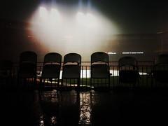 Rain Delay, Busch Stadium