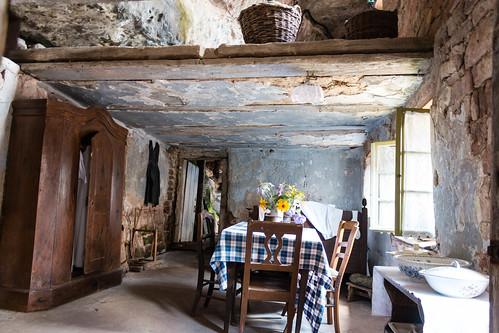 Salle à manger de la maison Wagner à Graufthal
