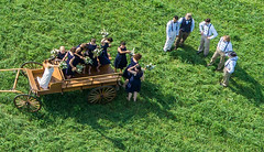 Kelly and Andy Slippey's Wedding From Above (Wind Watcher) Tags: wedding red kite andy foot 10 4th july kelly kap bkt 2015 rokkaku slippey windwatcher