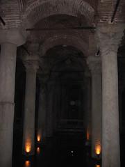 Turkish Delights (gotdamon) Tags: holiday turkey roman istanbul creepy spooky column cistern colum constantinople