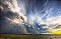 The end (Kansas Poetry (Patrick)) Tags: storm stormclouds lawrencekansas lawrenceks clintonlake tornadicweather patrickemerson patricknancyforever