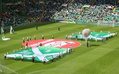 Celtic Park (Graham`s pics) Tags: sport football paradise glasgow soccer legends celtic flagday parkhead scottishfootball glasgowceltic celticpark flagunfurling spfl lisbonlionsstand gspiccies