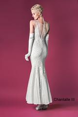 Chantalle III ecru tył (dunikowski) Tags: suknia sukienki wieczorowe sukienka dagnez wieczorowa dagnezpl