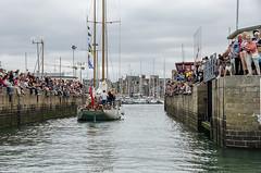 14th July arrivng into Paimpol harbour (Matchman Devon) Tags: classic star lock regatta crowds channel blazing paimpol