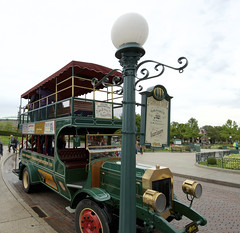 Omnibus (DLP-Photos by NKA-Photo.com) Tags: street usa paris france bus mainstreet disneyland main transport disney co eurodisney dl omnibus disneylandparis dlp mainstreetusa disneyparis centralplaza msusa disneyparks disneyphotos dlparis disneyparcs disneyside