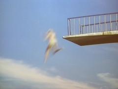 Pr plons (Merodema) Tags: jump fast plank goingdown springen vaag snel afgaan hoppa duikplank