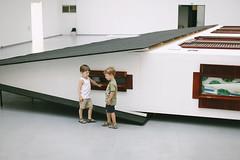 Erwin Wurm. Narrow house (ramung) Tags: people art children gallery portraiture smc lithuania erwinwurm narrowhouse