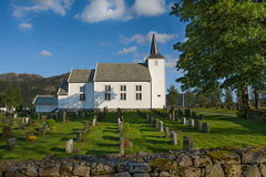 The church is a hospital for sinners, not a museum for saints  (~Ranveig Marie~) Tags: pictures old flowers summer white mountain tree church colors cemetery graveyard sunshine norway clouds religious norge wooden moss nikon colours shadows photos pics sommer religion norwegen sigma chapel bluesky images christian photographs brickwall noruega blueskies christianity colourful tre mur grav bilder kapell norvege rogaland kirke norsk mose kristendom kirkegrd graver colrful gravplass bjerkreim kyrkjegard kyrkje skygger dalane sigmaart nikond5200 sigmaart1835mm ranveigmarienesse ranveignesse ivesdal ivesdalkapell