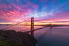 Color Burst... (SuchismitaSen) Tags: sfo sanfrancisco goldengate goldengatebridge amazinggoldengate amazinggoldengatebridge california hawkhills landcsape fog light sea sky cloud clouds color colors colorful sunset water nikon 1020mm sigma sigma1020 sigma1020world wideanglelandscape internationalgeographic addictedtonature exemplaryphotos nikonflickraward etsy finegold flickraward flickrbronzeaward flickrhearts landscapelovers landscapesdreams naturesprime sapphire bestshotawards spiritofphotography nature landscape d810 nikond810 nikon1424