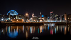 City Centre from Wapping Dock (TehJazzi Photography) Tags: liverpool city centre photography long exposure colours albert dock salthouse liver building canon nikon d5500 100d wide angle 10mm 50mm 30mm prime american diner bus old school retro life ring christmas lights festival wheel echo arena reflections water quay boat port winter dark shows rides fun fair beatles story artistic photographer canvas prints