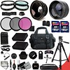 Ultimate 32 Piece Accessory Kit for Nikon D5500 D5300 D5200 D5100 D3300 D3200 P7800 P7700 P7100 P7000 Cameras Includes 58mm High Definition 2X Telephoto Lens + 58mm High Definition Wide Angle Lens + MORE (saidkam29) Tags: 58mm accessory angle cameras d3200 d3300 d5100 d5200 d5300 d5500 definition high includes lens more nikon p7000 p7100 p7700 p7800 piece telephoto ultimate wide