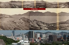 1860年和2009年的九龍南部 Kowloon in 1860 and 2009 (richardwonghkbook4) Tags: hongkong kowloon kingspark homantin collectivememories heritage thenandnow building landscape urban historicalbuilding hunghom