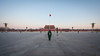 Lonely Soldier (China Chas) Tags: 1022mm 2017 beijing china tiananmensquare flagraisingceremony sunrise