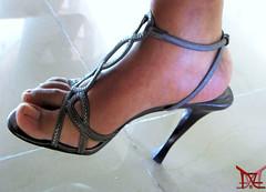 Balancing (Claudio (Tania Zandalz - wife)) Tags: high heels shoes fetish mature sexy latina kapikua1 milf female woman wife amateur mexico feet toes strappy sandals tacones altos zapatos fetiche madura femenina mujer esposa pies dedos tiras sandalias arch arco
