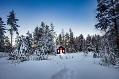 The lonesome house (Stockografie) Tags: fujifilm longexposure sweden xt10 xc1650ii