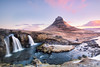 Romance | Kirkjufell in Western Iceland (James Kerwin Photographic) Tags: 2016 5ds canon ice architecture art cold commercial derelict explore grand grandeur historic history iceland images lakes march mountains neglect norfolk norwich photography reflections snow travel water weddings kirkjufell classic church mountain waterfall phottix lighting sunrise twilight sea sunshine colour colours