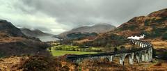 Heading West (Kingmoor Klickr) Tags: lochshiel glenfinnan viaduct harrypotter highlands westhighland extension railway fortwilliam black5 45407 jacobite j k rowling hogwarts express scotland