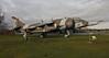 XV748 HARRIER GR3 AT ELVINGTON JAN 2017 (toowoomba surfer) Tags: vtol aviation aircraft jet aeroplane museum aviationmuseum yorkshireairmuseum