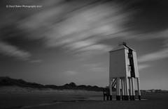 Burnham-on-sea lighthouse (Daryl 1988) Tags: sky clouds timewarp lighthouse historic beach coast outdoors sand adventure seaside sea uk infrared blackandwhite nikon camera nikond2xs longexposure leefilters landscapephotography seascape somerset skyscape cloudporn