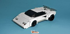Lamborghini Countach (ZetoVince) Tags: vince zeto zetovince lego greek car vehicle lambo lamborghini countach super