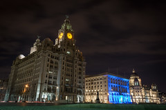 3 Graces Liverpool (Steven Blanchard) Tags: liverpool 3graces longexposure