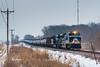 NS 1070 (shawn_christie1970) Tags: medina minnesota unitedstates us oil heritage norforksouthern ns1070 train railroad paynesvillesub winter snow hwy55