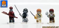 ANIMAL WARRIORS (baronsat) Tags: lego thundercats custom minifigs castle conan heroic fantasy sword sorcery