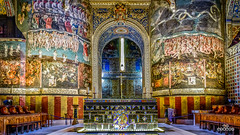 Le jugement dernier (brenac photography) Tags: albi midipyrénées france fr d810 samyang brenac brenacphotography hdr oloneo church cathedral painting religious last