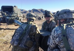 25th ID Artillery Soldiers Maintain Readiness (#PACOM) Tags: 8thfieldartilleryregiment artillery automatic m777howitzercannon ntcak2017 fortirwin california unitedstates us