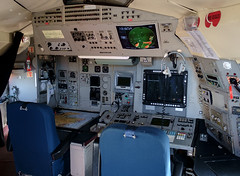 XV240 Nimrod, Kinloss (wwshack) Tags: aircraftmuseum kinloss moray morayvia nimrod raf royalairforce scotland cockpit xv240