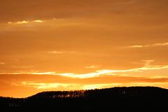 sunset (Klaus R. aus O.) Tags: sunset cloud sun silhouette forest sonnenuntergang wolke sonne wald steigerwald schattenbild oberschwappach zabelstein schaten