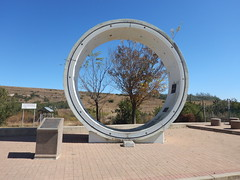 The Pipe for the Tunnel of Lesotho Water (range commander) Tags: africa southafrica lesotho freestate drinkingwater 2015 ashriveroutfall lesothowaterhighlandsproject