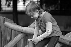 Sony Alpha A230 with Helios-44-2 -  Lucka 4 (Kojotisko) Tags: portrait bw kid child brno czechrepublic helios442 helios442258 legacylens legacylenses sonyalphaa230
