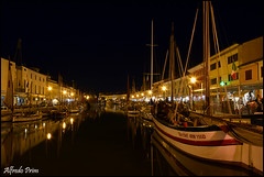 Porto Canale by night (alfvet) Tags: nikon barche luci notte vacanze romagna d5200 veterinarifotografi