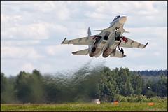 Sukhoi Su-30SM (Pavel Vanka) Tags: plane airplane fighter russia jet su30 takeoff sukhoi su27 flanker kubinka russianairforce su30sm army2015 армия2015