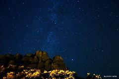 Vía láctea desde Montserrat (2015) (eloyfc) Tags: stars estrellas montserrat milkyway monistrol víaláctea vialàctia estrellasbarcelona barcelonastars