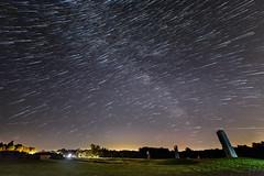 _ DSC_1561 star trail 1c (alanstudt) Tags: ohio stars nikon nightsky f28 montville starrynight milkyway startrail d600 14mm adobelightroom observatorypark rokinon alanstudt