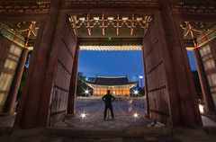 A Photographer Inside The Frame (KOLYO_99) Tags: road street old city travel sunset color history me beautiful skyline architecture canon landscape fun asia raw cityscape photographer village nightscape outdoor like palace korea korean seoul saudi area daytime khalid  namsan     14mm      samyang tamron2470  rokinon