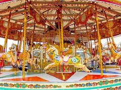 all the colours of the fair (andybrewster) Tags: carousel southport