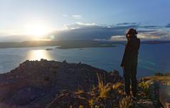 Widok na jezioro Titicaca ze wzgórza Pachamama | Titicaca panoramic view from Pachamama