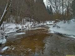 Как невольно течет река.