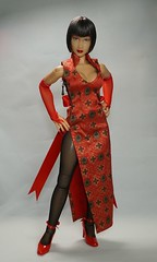 Custom Tekken Anna Williams 1/6 Figure (Telasio86) Tags: custom tekken anna williams 16 figure doll repaint 12 ooak female triad toys alpha