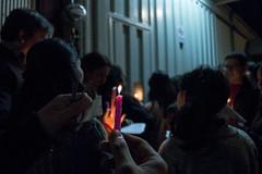 Una luz en la obscuridad (Curro Chompis) Tags: dark darkness light one candle vela posada letania oscuridad luz lighting lightening